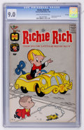 Silver Age (1956-1969):Humor, Richie Rich #5 File Copy (Harvey, 1961) CGC VF/NM 9.0 Cream to off-white pages....