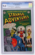 Golden Age (1938-1955):Science Fiction, Strange Adventures #14 (DC, 1951) CGC VF/NM 9.0 Off-white to white pages....