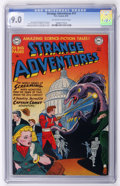 Golden Age (1938-1955):Science Fiction, Strange Adventures #11 (DC, 1951) CGC VF/NM 9.0 Off-white to whitepages....