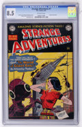 Golden Age (1938-1955):Science Fiction, Strange Adventures #7 (DC, 1951) CGC VF+ 8.5 Off-white pages....