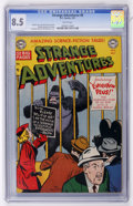 Golden Age (1938-1955):Science Fiction, Strange Adventures #8 (DC, 1951) CGC VF+ 8.5 White pages....