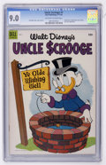 Golden Age (1938-1955):Funny Animal, Uncle Scrooge #7 (Dell, 1954) CGC VF/NM 9.0 Off-white to whitepages....