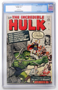 Silver Age (1956-1969):Superhero, The Incredible Hulk #5 (Marvel, 1963) CGC VF/NM 9.0 Off-whitepages....