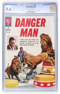 Four Color #1231 Danger Man (Dell, 1961) CGC NM+ 9.6 Off-white to white pages