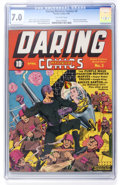 Golden Age (1938-1955):Superhero, Daring Mystery Comics #3 (Timely, 1940) CGC FN/VF 7.0 Off-white pages....
