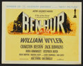 "Movie Posters:Historical Drama, Ben-Hur (MGM, 1960). Title Lobby Card and Lobby Cards (6) (11"" X14""). Historical Drama.. ... (Total: 7 Items)"