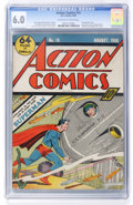 Golden Age (1938-1955):Superhero, Action Comics #15 (DC, 1939) CGC FN 6.0 Off-white to white pages....