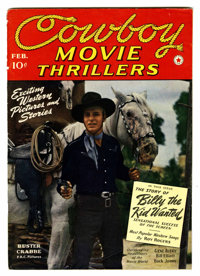 Cowboy Movie Thrillers Magazine #3 (Frank A. Munsey Co., 1942) Condition: VG+