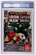 Silver Age (1956-1969):Superhero, Tales of Suspense #69 (Marvel, 1965) CGC NM 9.4 White pages....