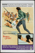 "Movie Posters:Drama, Romeo and Juliet (Paramount, 1968). One Sheet (27"" X 41""). Drama.. ..."