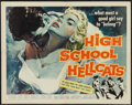 "Movie Posters:Bad Girl, High School Hellcats (American International, 1958). Half Sheet(22"" X 28""). Bad Girl.. ..."