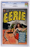 Golden Age (1938-1955):Horror, Eerie #4 (Avon, 1951) CGC VF+ 8.5 Cream to off-white pages. ...