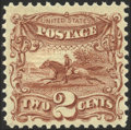 Stamps, 2c Yellow Brown (113),...