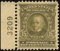 Stamps, 15c Olive Green (309),...