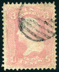 Stamps, 3c Pink (64),...