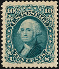 Stamps, 10c Green, Re-issue (106), ...
