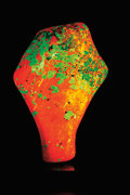 Minerals:Flourescent, POLISHED FLUORESCENT FREEFORM. ...
