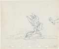 Animation Art:Production Drawing, Pinocchio Animation Production Drawing Original Art Group of2 (Disney, 1940).... (Total: 2 Items)