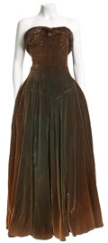 Movie/TV Memorabilia:Costumes, Edie Adams Screen-Worn Hattie Carnegie Gown.... (Total: 2 Items)