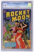 Golden Age (1938-1955):Science Fiction, Rocket to the Moon nn (Avon, 1951) CGC VF- 7.5 Off-white to whitepages....