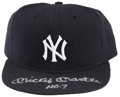 Autographs:Others, Mickey Mantle UDA Signed New York Yankees Hat. ...