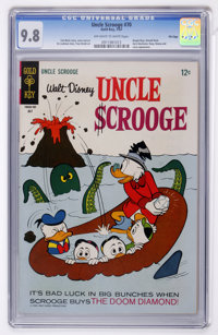 Uncle Scrooge #70 File Copy (Gold Key, 1967) CGC NM/MT 9.8 Off-white to white pages