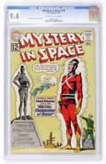 Silver Age (1956-1969):Science Fiction, Mystery in Space #79 (DC, 1962) CGC NM 9.4 Off-white to whitepages....
