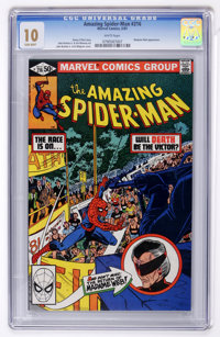 The Amazing Spider-Man #216 (Marvel, 1981) CGC MT 10 White pages