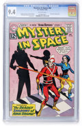 Silver Age (1956-1969):Science Fiction, Mystery in Space #80 (DC, 1962) CGC NM 9.4 Off-white pages....