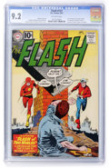 Silver Age (1956-1969):Superhero, The Flash #123 (DC, 1961) CGC NM- 9.2 Off-white pages....