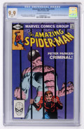 Modern Age (1980-Present):Superhero, The Amazing Spider-Man #219 (Marvel, 1981) CGC MT 9.9. Off-white towhite pages...