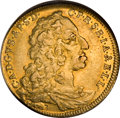 German States:Bavaria, German States: Bavaria. Karl Albert gold 1/2 Carolin 1733,...