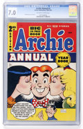 Golden Age (1938-1955):Humor, Archie Annual #2 (Archie, 1951) CGC FN/VF 7.0 Off-white to white pages....
