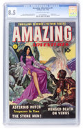 Golden Age (1938-1955):Science Fiction, Amazing Adventures #1 (Ziff-Davis, 1950) CGC VF+ 8.5 Off-white towhite pages....