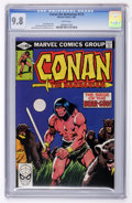 Modern Age (1980-Present):Miscellaneous, Conan the Barbarian #112 (Marvel, 1980) CGC NM/MT 9.8 White pages....
