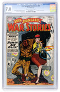 Silver Age (1956-1969):War, Star Spangled War Stories #85 (DC, 1959) CGC FN/VF 7.0 Cream to off-white pages....