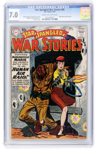 Star Spangled War Stories #85 (DC, 1959) CGC FN/VF 7.0 Cream to off-white pages