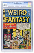 Golden Age (1938-1955):Science Fiction, Weird Fantasy #13 (#1) (EC, 1950) CGC VG+ 4.5 Cream to off-whitepages....