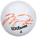 Golf Collectibles:Autographs, Michael Jordan UDA Signed Golf Ball. ...