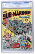 Golden Age (1938-1955):Superhero, Sub-Mariner Comics #1 (Timely, 1941) CGC FN 6.0 Off-white pages....