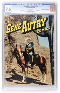 Golden Age (1938-1955):Western, Gene Autry Comics #29 Mile High pedigree (Dell, 1949) CGC NM+ 9.6White pages....