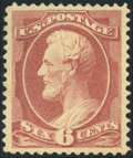 Stamps, 6c Deep Red Brown (208a),...