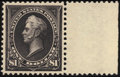 Stamps, $1 Black, Type II (261A),...