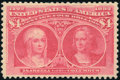 Stamps, $4 Rose Carmine (244a),...