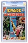 Golden Age (1938-1955):Science Fiction, Space Adventures #34 White Mountain pedigree (Charlton, 1960) CGCVF/NM 9.0 White pages....