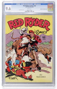 Red Ryder Comics #35 Mile High pedigree (Dell, 1946) CGC NM+ 9.6 White pages