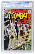 Silver Age (1956-1969):War, G.I. Combat #87 (DC, 1961) CGC FN/VF 7.0 Off-white to white pages....