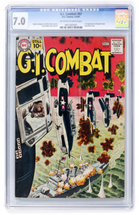G.I. Combat #87 (DC, 1961) CGC FN/VF 7.0 Off-white to white pages