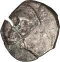 Ancients:Judaea, Ancients: Judaea. Yehud. Ca. 350-333 B.C. AR hemiobol (7 mm, .21 g,10 h)....