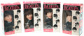 Music Memorabilia:Memorabilia, Beatles Vintage Dolls by Remco, Complete Set.... (Total: 4 Items)